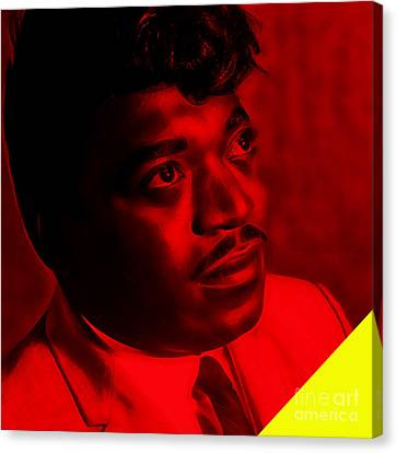 Percy Sledge Collection Canvas Print by Marvin Blaine
