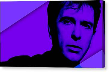 Peter Gabriel Collection Canvas Print