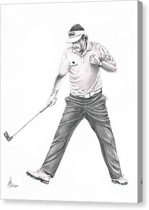 Phil Mickelson Canvas Print