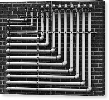 Pipes Canvas Print by Robert Ullmann