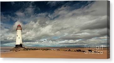 Point Of Ayre Lighthouse Canvas Print by Adrian Evans