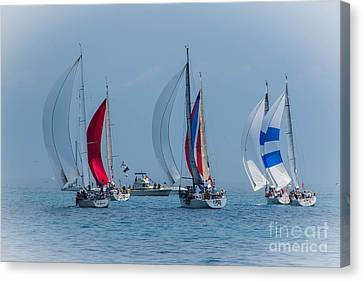 Port Huron To Mackinac Race 2015 Canvas Print