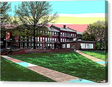 Potomac State College Canvas Print