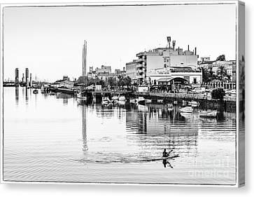 Canvas Print featuring the photograph Puerto De Santa Maria Cadiz Spain by Pablo Avanzini