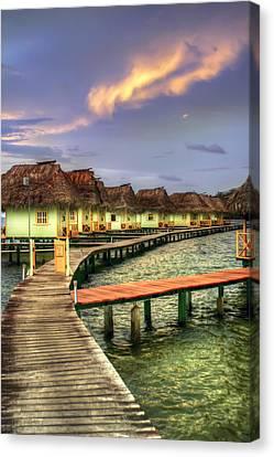 Punta Caracol Canvas Print
