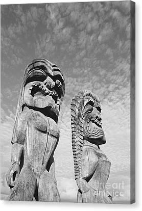 Big Kahuna Canvas Print - Puuhonua O Honaunau by Greg Vaughn - Printscapes