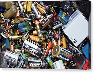 Recycling Centre Canvas Print by Mark Williamson