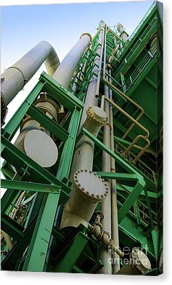 Refinery Detail Canvas Print