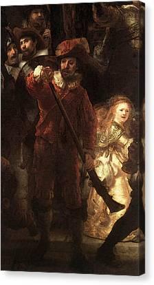 Rembrandt The Nightwatch  Canvas Print
