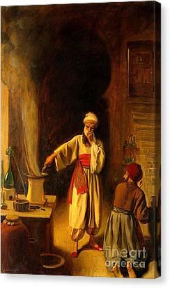 Rhazes, Islamic Polymath Canvas Print by Wellcome Images