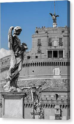 Rome - Mausoleum Of Hadrian Canvas Print