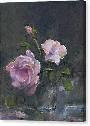 Roses Canvas Print by Tigran Ghulyan