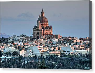 Rotunda Xewkija - Gozo Canvas Print