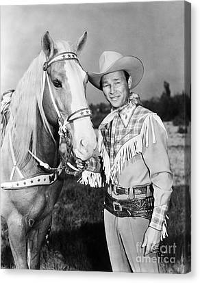 Clothing Canvas Print - Roy Rogers by Granger