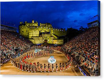 Royal Edinburgh Military Tattoo Canvas Print