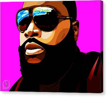 Rozay Canvas Print by The DigArtisT