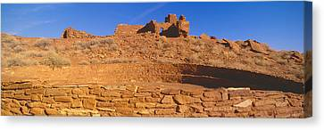 Hopi Canvas Print - Ruins Of 900 Year Old Hopi Village by Panoramic Images