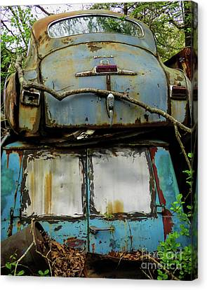Rusted Series Canvas Print by Laura Atkinson