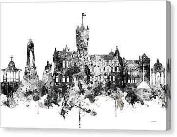 Rutherglen Scotland Skyline Canvas Print by Marlene Watson