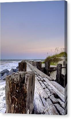 Seawall  Canvas Print by Drew Castelhano