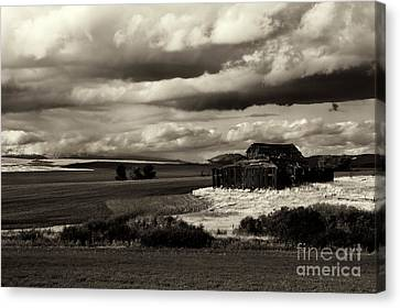 Canvas Print featuring the photograph Seen Better Days by Mike Dawson