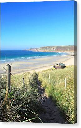 Sennen Cove Canvas Print by Carl Whitfield