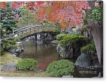 Sento Imperial Palace Gardens Lake Canvas Print
