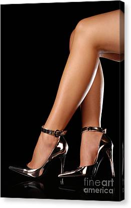 Sexy Shoes Canvas Print