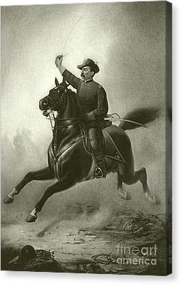 Sheridan's Ride Canvas Print by Thomas Buchanan Read