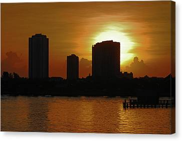 Canvas Print featuring the photograph 2- Singer Island by Joseph Keane