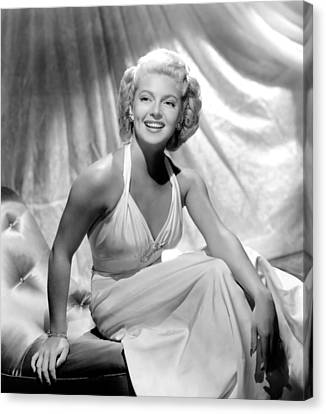 Slightly Dangerous, Lana Turner, 1943 Canvas Print