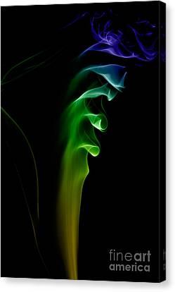 smoke XXVI Canvas Print