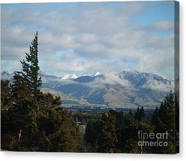 South Island New Zealand Canvas Print by Joyce Woodhouse