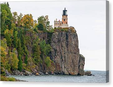 Split Rock Lighthouse Canvas Print by Steve Stuller