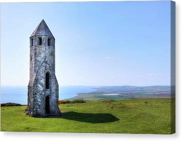 St. Catherine's Oratory -  Isle Of Wight, Canvas Print