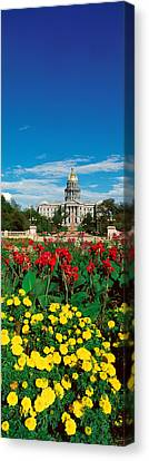 State Capitol Of Colorado, Denver Canvas Print by Panoramic Images