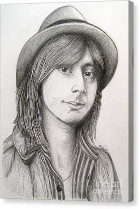 Steve Perry Canvas Print by Patrice Torrillo