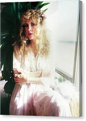 Stevie Nicks 1981 No.3 Canvas Print by Chris Walter