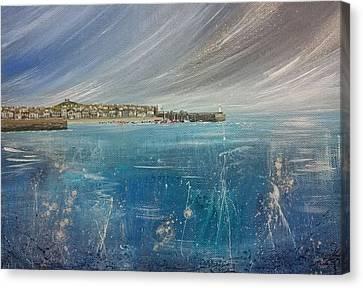 Canvas Print - St.ives, Cornwall, Uk  by Keran Sunaski Gilmore