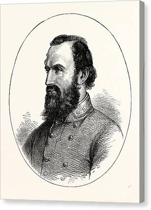 Stonewall Jackson, Canvas Print
