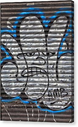 Street Art Nyc Canvas Print by Robert Ullmann