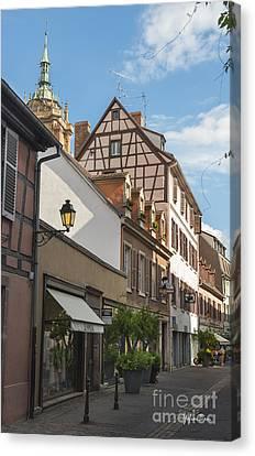 Streets Of Colmar Canvas Print