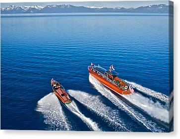 Chris Craft Custom Canvas Print - Promotion Ends Today by Steven Lapkin