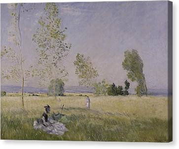 Summer Canvas Print by Claude Monet