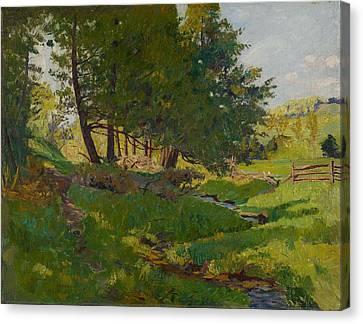 Summer Near Beaupre Canvas Print by Maurice Cullen