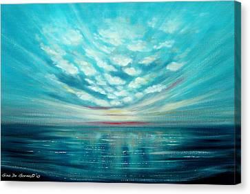 Sunset Quest Canvas Print