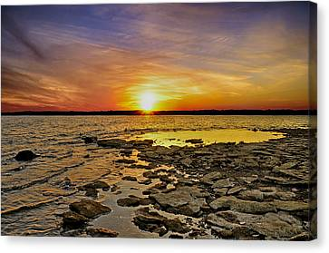Sunset Canvas Print by Steven Michael