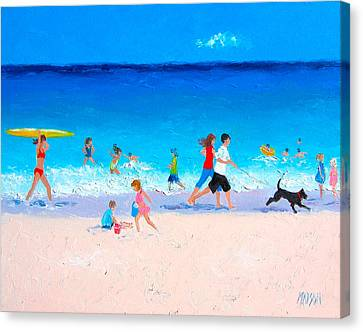Sunshine And Summertime Canvas Print