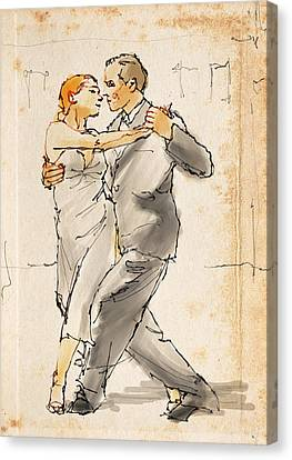 Tango  Canvas Print by H James Hoff