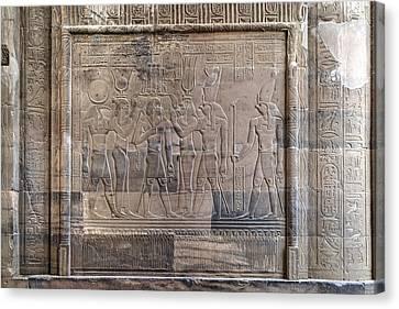 Horus Canvas Print - Temple Of Kom Ombo - Egypt by Joana Kruse